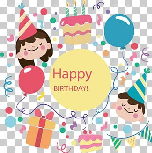 Birthday Cake Happy Birthday To You Party Birthday Card PNG