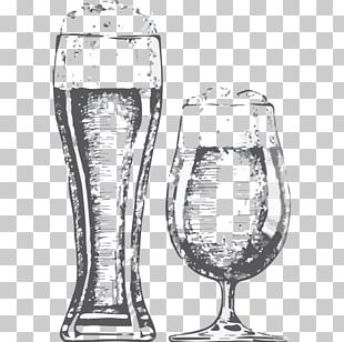 Beer Glasses Beer Head Tea Drawing PNG