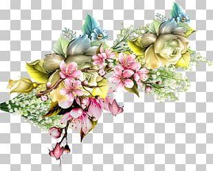 Floral Design Flower Bouquet Painting Art PNG