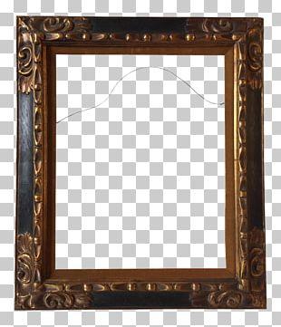 Frames National Portrait Gallery Art Museum Wood Carving Gold Leaf PNG