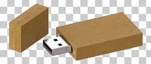 USB Flash Drives USB Hub Recycling Cardboard PNG