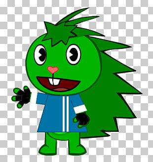 Smiley Leaf Cartoon PNG