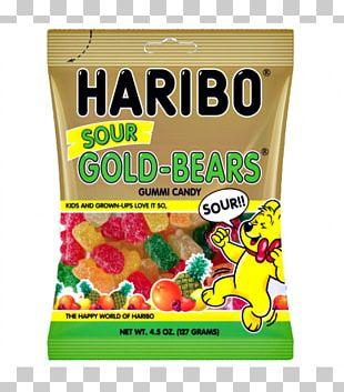 Gummi Candy Gummy Bear Sour Haribo Fizz PNG