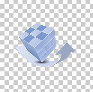 Rubiks Cube Graphic Design PNG