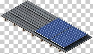 Solar Panels Metal Roof Solar Power Photovoltaic Mounting System PNG