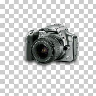 Canon EOS 300D Digital SLR Single-lens Reflex Camera PNG