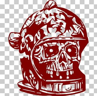 Astronaut Human Skull Symbolism Sticker Wall Decal PNG