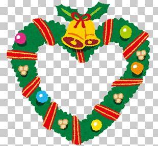 Christmas Ornament Wreath Santa Claus Christmas Cake PNG