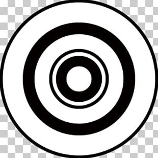 Black And White Circle Area Technology PNG