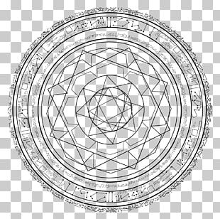 Doctor Strange Magic Circle Drawing PNG