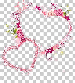 Frames Paper Love Heart Glass PNG