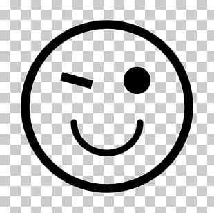 Smiley Happiness Computer Icons Emoticon Wink PNG
