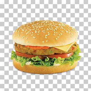 Veggie Burger Hamburger Vegetarian Cuisine KFC French Fries PNG