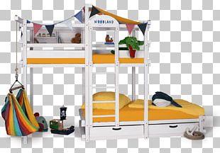 Bunk Bed Bed Frame Furniture Room PNG