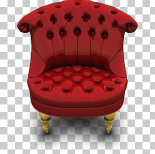 Car Seat Cover Chair Red PNG