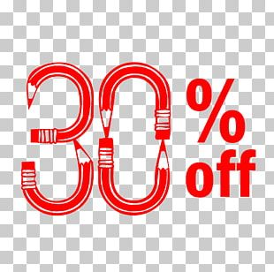 Back To School 30% Off Discount Tag. PNG