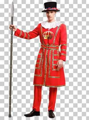 Beefeater Gin Disguise Yeomen Warders Woman PNG
