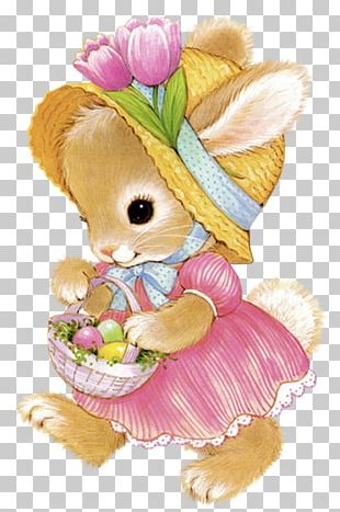 Easter Bunny Rabbit Easter Egg PNG