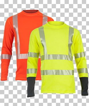 T-shirt High-visibility Clothing Sleeve PNG