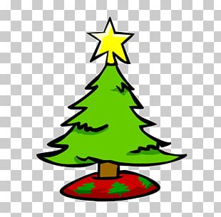 Artificial Christmas Tree PNG