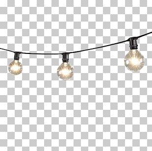 Lighting Incandescent Light Bulb LED Lamp String PNG