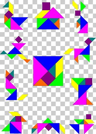 Paper Line Symmetry Point Pattern PNG