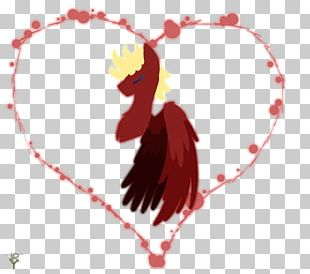 Rooster Chicken Heart PNG