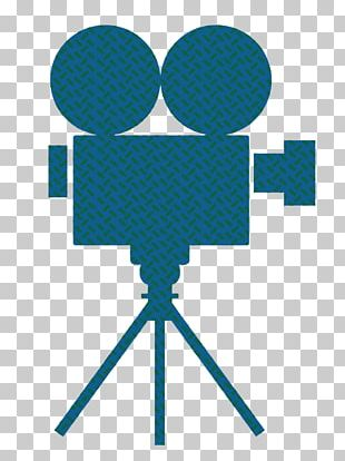 Film Reel Movie Camera Illustration PNG