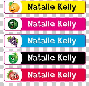 Brand Label Name Tag Color PNG