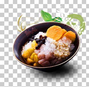 Taro Ball Taiwanese Cuisine Bubble Tea Dish PNG