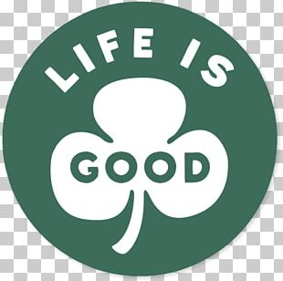 Life Is Good Company T-shirt Sticker Clothing Die Cutting PNG