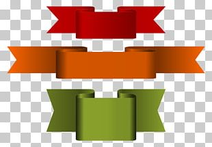 Paper Ribbon Banner PNG