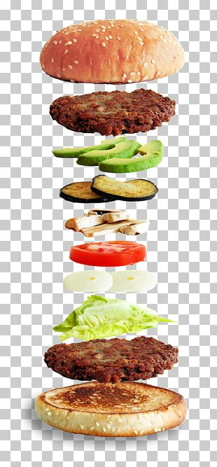 Hamburger Fast Food Veggie Burger Cheeseburger Breakfast Sandwich PNG