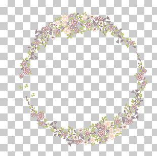 Small Floral Decorative Ring PNG