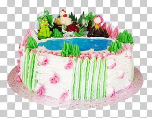 Birthday Cake Sugar Cake Frosting & Icing Torte Cream Pie PNG