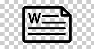 Document File Format Computer Icons Microsoft Word PNG