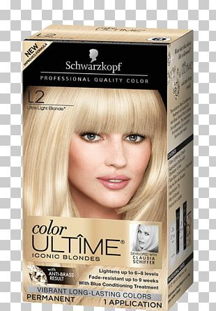 Schwarzkopf Color Ultime Permanent Hair Color Cream Hair Coloring Schwarzkopf Keratin Color Anti-Age Hair Color Cream Blond PNG