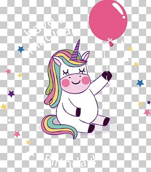 Birthday Party Unicorn YouTube Wish PNG