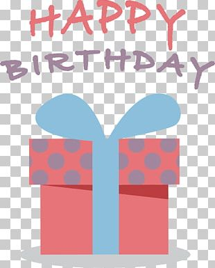 Paper Birthday Gift Greeting Card PNG