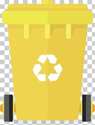 Paper Waste Container Logo PNG