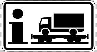 Traffic Sign Train Truck Transport PNG