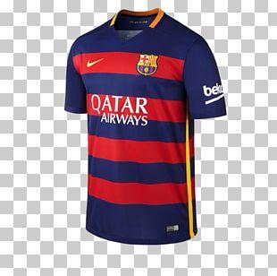 2015–16 FC Barcelona Season T-shirt Jersey Sleeve PNG