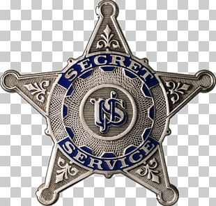 United States Secret Service Badge Special Agent Federal Government Of The United States PNG