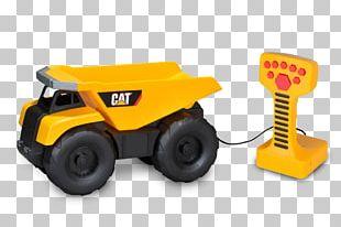 "Caterpillar Inc. Heavy Machinery CAT 13"" Job Site Machine Dump Truck CAT Job Site Machine PNG"