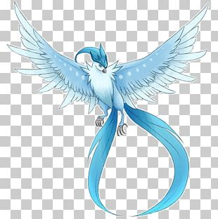 Bird Articuno Snow Legend Blue PNG