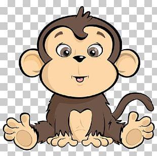 Monkey Cartoon Drawing PNG