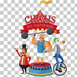 Circus Clown Illustration PNG