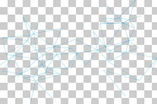 Light Blue Technology Lines PNG
