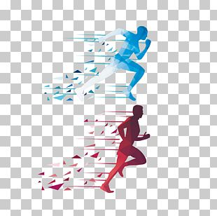 Running Euclidean Icon PNG