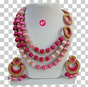 Necklace Jewellery Jewelry Design Handmade Jewelry Thread PNG